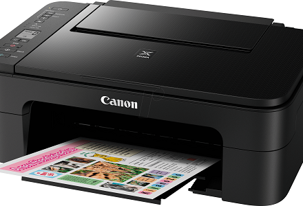 canon printer not printing straight lines